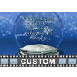 Snow Globe Text PowerPoint Video Background
