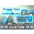 Robot Builder Text Video Background