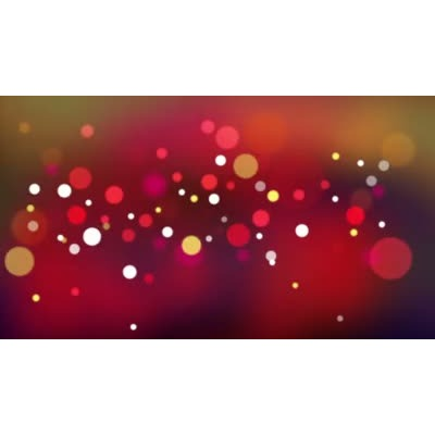 ID# 10806 - Lights Of Holly - Video Background