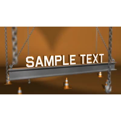 ID# 11142 - Girder Text - Video Background