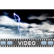 Dark Stormy Clouds Video Background