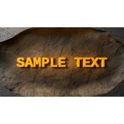 ID# 11980 - Concrete Fracture Text - Video Background