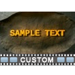 Concrete Fracture Text PowerPoint Video Background
