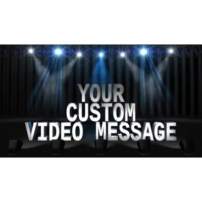 ID# 12236 - Light Show Text - Video Background