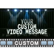 Light Show Text PowerPoint Video Background