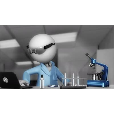ID# 12294 - Scientist Working - Video Background