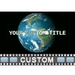 Earth Majestic Text PowerPoint Video Background