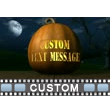ID# 12961 - Jack O Lantern Text - Video Background