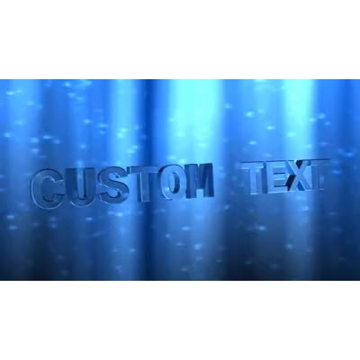 ID# 13011 - Shimmering Text - Video Background