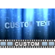 Shimmering Text PowerPoint Video Background