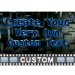 Glow Rim Text PowerPoint Video Background