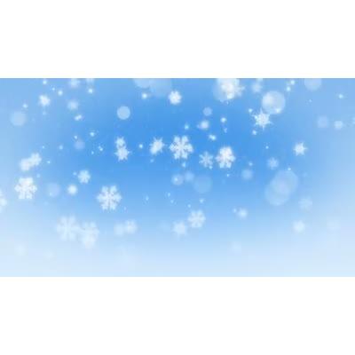ID# 13459 - Bokeh Snowflakes - Video Background