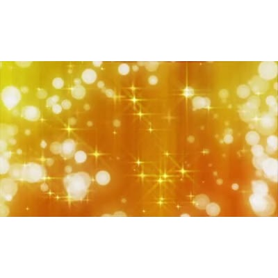 ID# 13487 - Golden Stars and Circles - Video Background