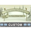 ID# 13491 - Christmas Cut Outs Text - Video Background