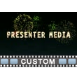 Fireworks Text PowerPoint Video Background