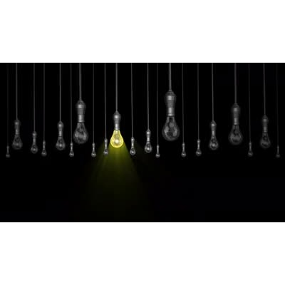 ID# 14690 - Hanging Light Standout - Video Background
