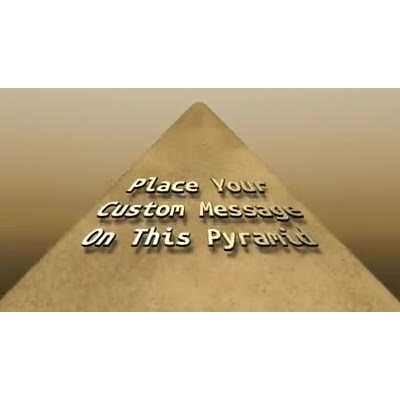 ID# 14923 - Pyramid Text - Video Background