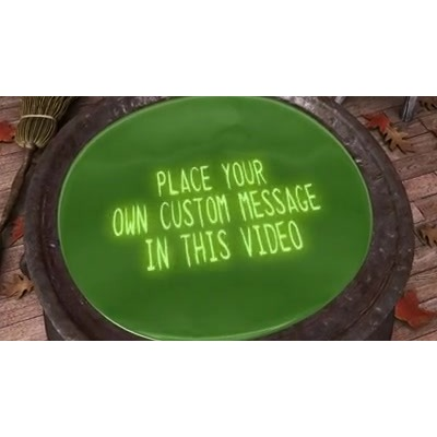 ID# 15514 - Swirling Cauldron Text - Video Background
