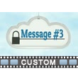 ID# 16497 - Three Custom Clouds - Video Background