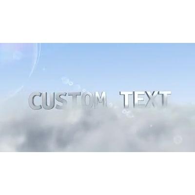 ID# 17130 - Cloud Fly Through Custom - Video Background