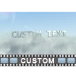 Cloud Fly Through Custom PowerPoint Video Background