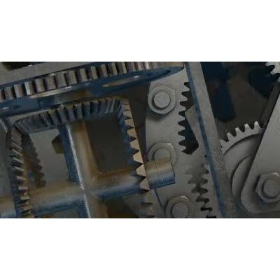 ID# 17398 - Gear Turn - Video Background