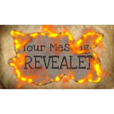Fire Reveal Custom Video Background