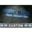 Neon Sign Brick Wall PowerPoint Video Background