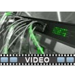 Network Cable Lights PowerPoint Video Background