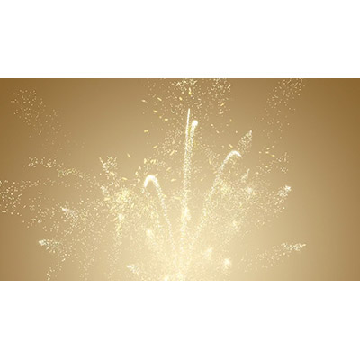 ID# 19636 - Golden Fireworks - Video Background
