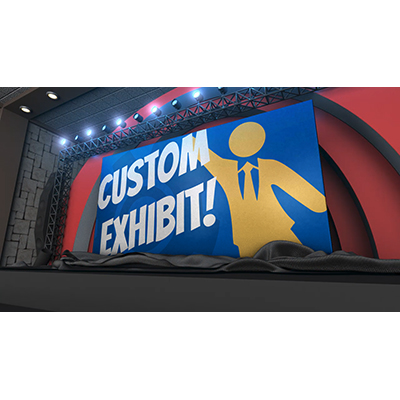 ID# 21807 - Exhibit Stage Reveal Custom - Video Background
