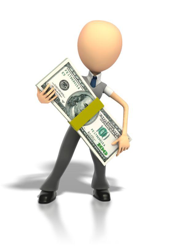 Clipart - Big Money