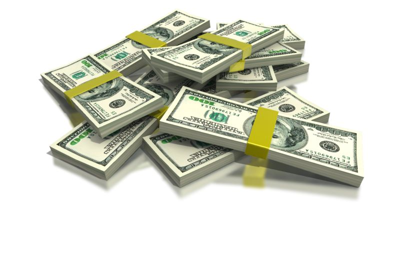 Clipart - Stack of Money