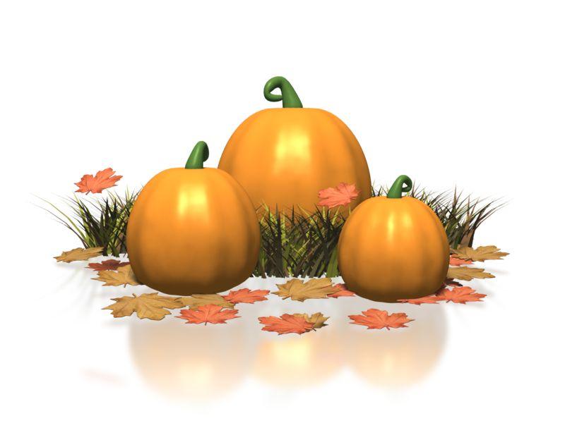 Clipart - Pumpkin