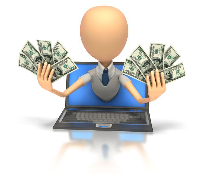 Clipart - Internet Money