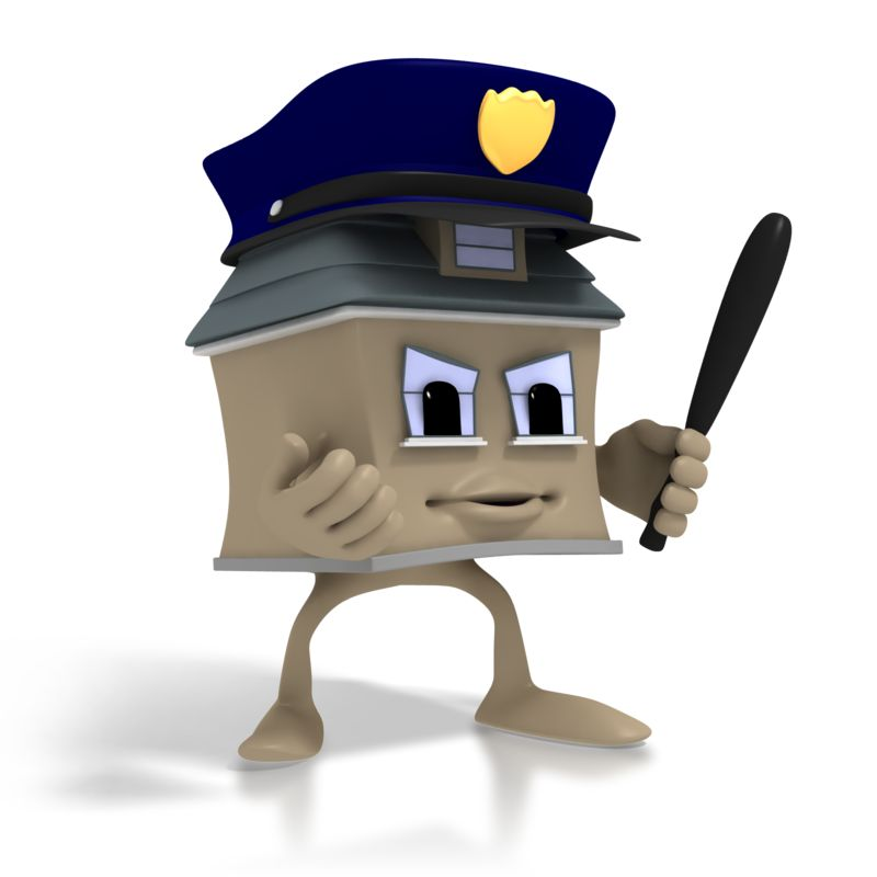 Clipart - Home Security