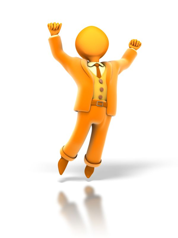 Clipart - Business Cheer