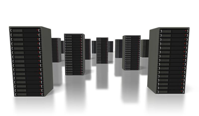 Clipart - Server Farm