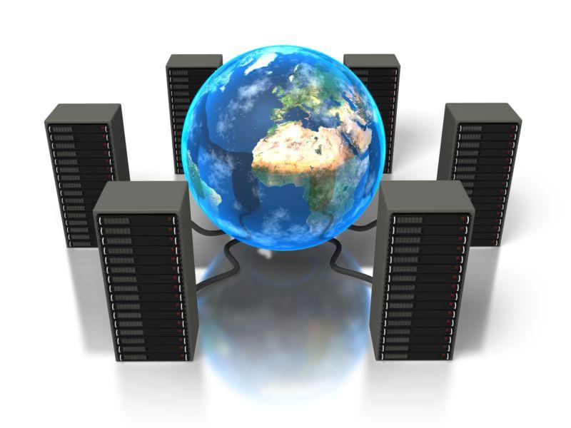 Clipart - World Servers