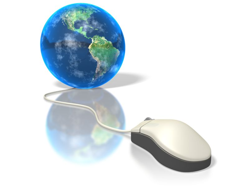 Clipart - Global Mouse