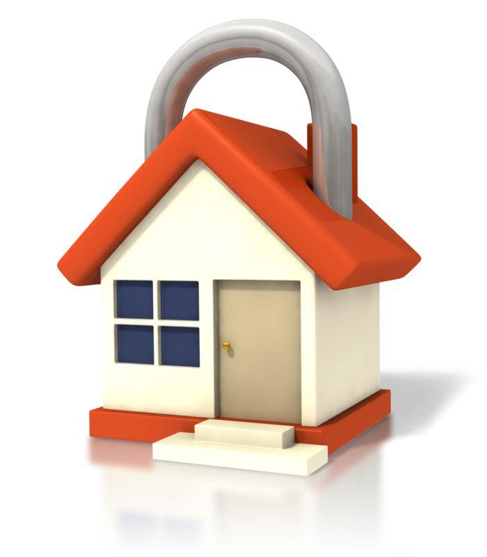 Clipart - House Lock Closeup