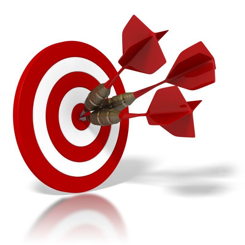 Clipart - Bulls Eye Target