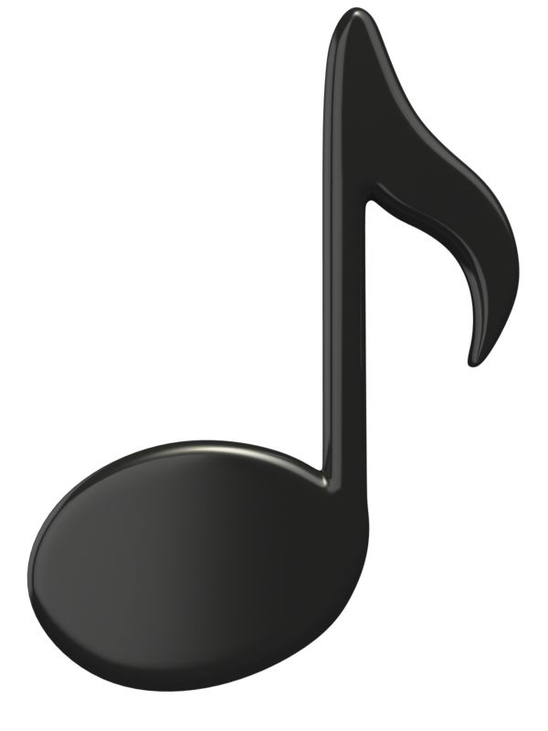 Clipart - Music Eighth Note