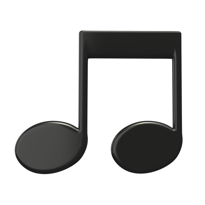 Clipart - Music Group Eighth Notes