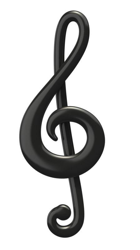 Clipart - Music Treble Clef