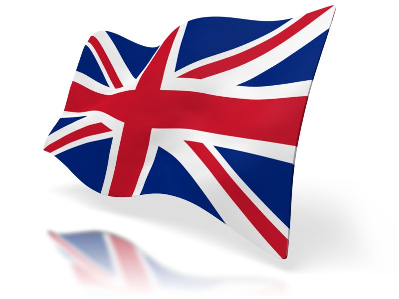 Clipart - Uk Flag Perspective