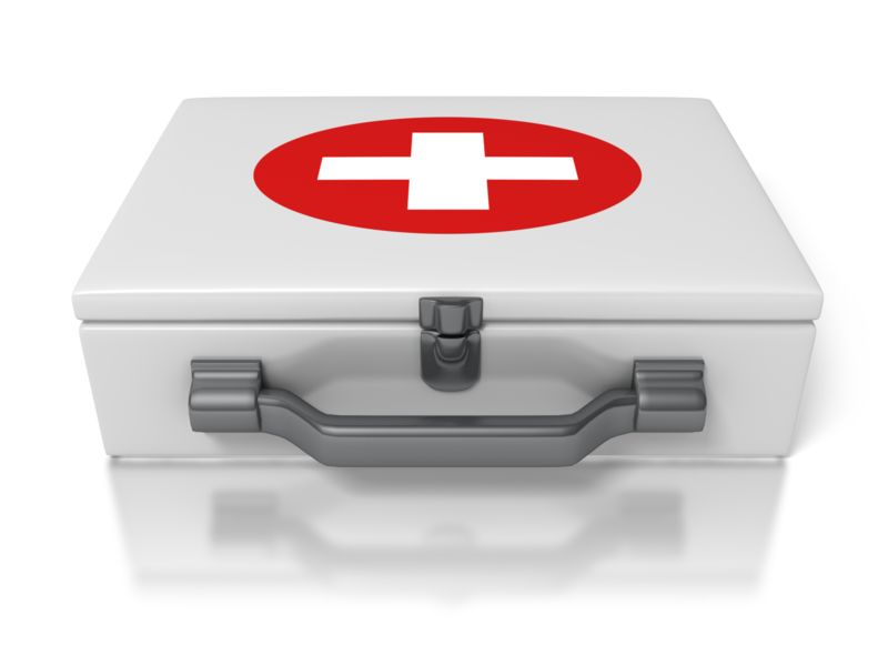 Clipart - First Aid Kit
