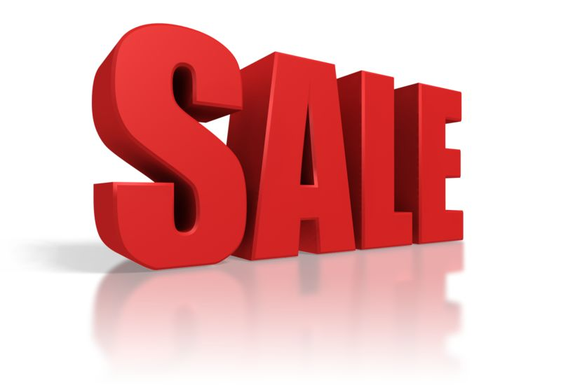 Clipart - Red Sale Text