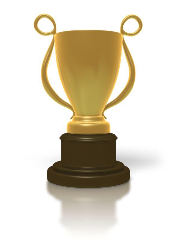 Clipart - Golden Trophy Cup