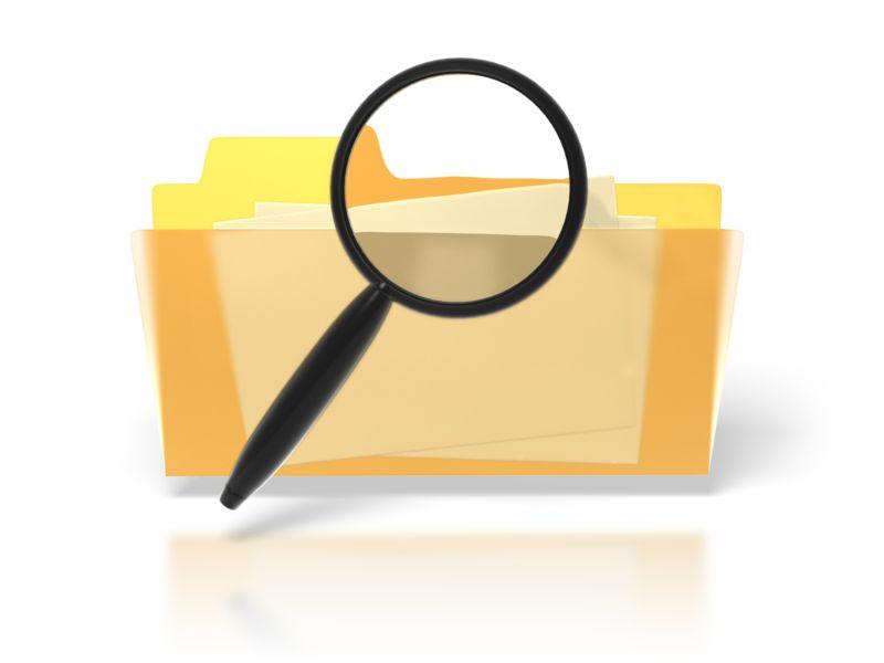 Clipart - Single File Folder Search